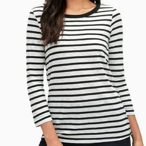 Splendid Cerine Long Sleeve T With Back Buttons